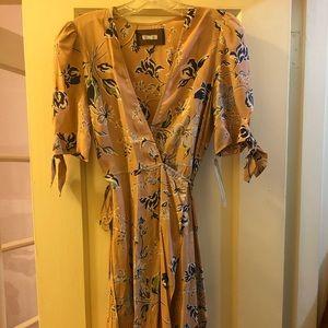 Blush Floral Reformation Dress